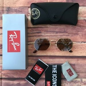 🎉60%OFF NEW AUTHENTIC RAY BAN OCTAGONAL